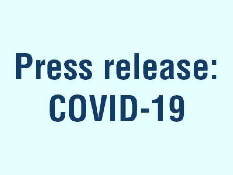 Press release: AH diagnostics lends out equipment for detection of Coronavirus, COVID-19